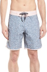 Imperial Motion Seeker Board Shorts Light Pink Blue