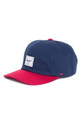 Herschel 'Albert' Ball Cap Navy Red