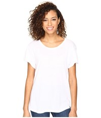Hurley Staple Easy Crew Tee White Women's Clothing