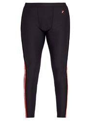 P.E Nation Trackside Score Compression Leggings Black