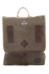 Will Leather Goods Burnt Lake Backpack Green