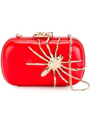 Corto Moltedo Susan C Star Clutch Bag Red