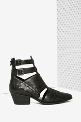 Nasty Gal Riders In The Sky Leather Boot