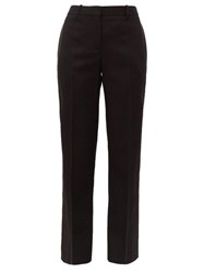 Givenchy Satin Trimmed Wool Twill Tuxedo Trousers Black