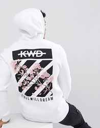 Kings Will Dream Stanten Hoodie In White