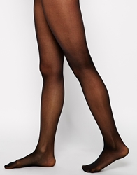 Gipsy 20 Denier Invisible Top Leg Shaper Tights Black