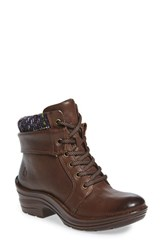 Bionica Women's 'Romulus' Boot Brown Purple Leather