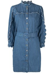 Mih Jeans Covey Dress Blue