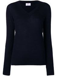 Allude Knitted Top Blue
