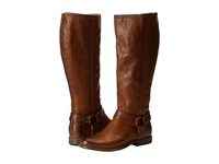 Frye Phillip Harness Tall Extended Cognac Extended Women's Pull On Boots Brown