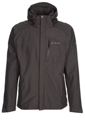 Vaude Furnas Hardshell Jacket Fir Green Dark Brown