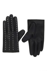 Forever 21 Studded Faux Leather Gloves