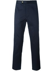 Moncler Gamme Bleu Tailored Trousers Blue