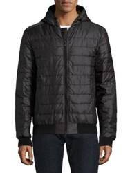 Canada Goose Sydney Quilted Down Fill Hoodie Black Spirit