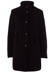 Basler Wool Coat With Cashmere Black