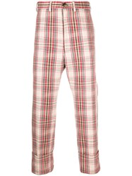 Vivienne Westwood Cropped Checked Trousers 60