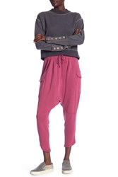 Free People Just Like That Lounge Pants Dk Pink
