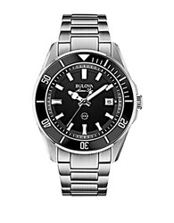 Bulova Mens Silvertone Watch