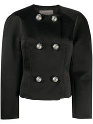 Christopher Kane Dome Double Breasted Jacket Black