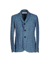 Julien David Blazers Dark Blue