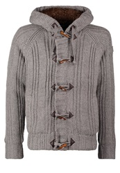 Schott Nyc Keystone Cardigan Heather Grey