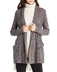 Bcbgeneration Novelty Marled Cable Knit Cardigan