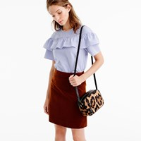 J.Crew Mini Skirt In Corduroy