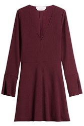 See By Chloe Flared Dress Red