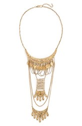 Women's Bp. Ladder Coin Statement Necklace