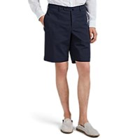 Incotex B Body Classic Fit Royal Batavia Shorts Navy