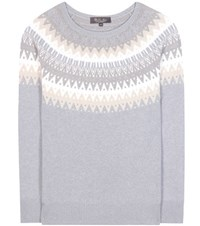Loro Piana Cashmere Sweater Grey