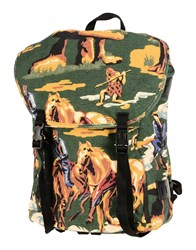 Stella Mccartney Backpacks And Fanny Packs Dark Green