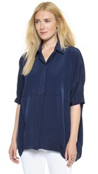 Hatch The Button Down Shirt Navy