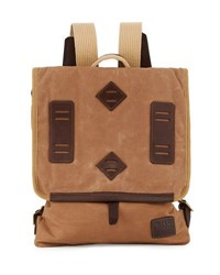 Will Leather Goods Burnt Lake Canoe Pack Backpack Brown