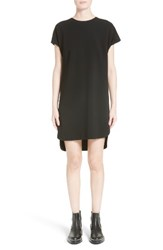 Alexander Wang Women's Crepe Shift Dress Onyx