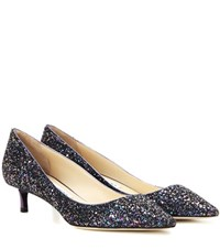 Jimmy Choo Romy 40 Leather Pumps Purple
