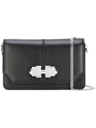 Carven Chain Strap Shoulder Bag Black