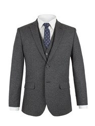 Aston And Gunn Men's Mitton Donegal Jacket Charcoal