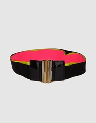 Msgm Small Leather Goods Belts Women Fuchsia