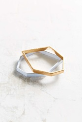 Urban Outfitters Modern Moments Bracelet Set Gold