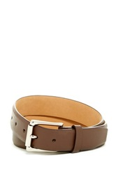 Cole Haan Split Leather Strap Roller Belt Brown