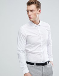 Burton Menswear Skinny Fit Shirt In White White