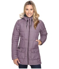 Columbia Della Fall Mid Jacket Dusty Purple Women's Coat