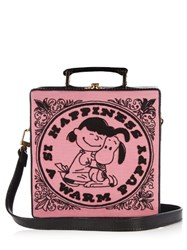 Olympia Le Tan Happiness Is A Warm Puppy Box Bag Pink Multi