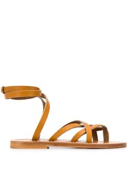 K. Jacques Strappy Wrap Around Sandals 60