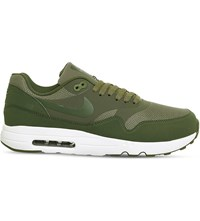 Nike Air Max 1 Ultra 2.0 Canvas Trainers Olive Legion Green