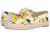 Chinese Laundry Hayden Yellow Floral Print Women's Flat Shoes