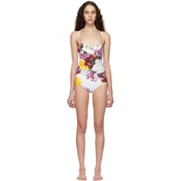 Dolce And Gabbana Multicolor Ortansia One Piece Swimsuit
