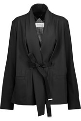 Maison Martin Margiela Belted Wool Jacket Black