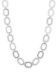 Judith Jack Swarovski Crystals Marcasite And Sterling Silver Collar Necklace